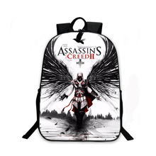 Assassin's Creed Backpack For Teenagers Children School Bags Boys Assassins Creed School Backpacks Men Daily Bag Women Backpack