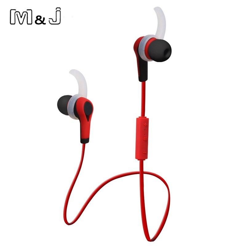 M & J Yeni Kablosuz Kulaklık Auriculares Bluetooth Stero Kulakiçi - Taşınabilir Ses ve Görüntü - Fotoğraf 2