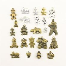 Charms For Jewelry Making Animal Bear  Accessories Parts Creative Handmade Birthday Gifts
