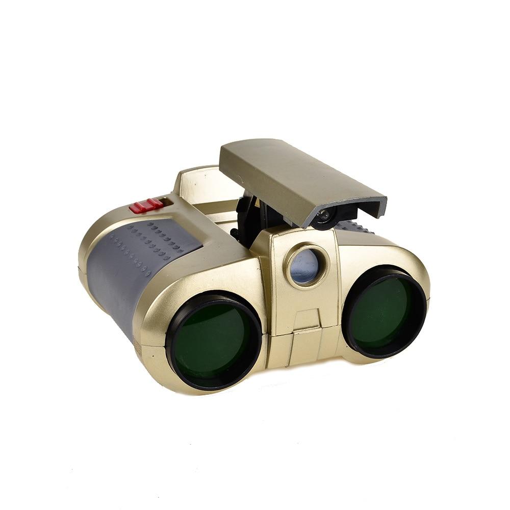 BOHS Night Scope Binocular with Pop up Light Telescope Spotlights Green Film with Light Lens Viewing Focusers Toys