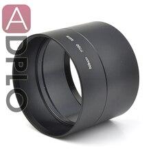 Pixco 58mm Metal Lens Filtre Adaptörü Tüp Suit Nikon Coolpix P7700 58mm Kamera