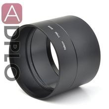 Pixco 58mm 금속 렌즈 필터 어댑터 튜브 정장 니콘 coolpix p7700 58mm 카메라