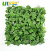 ULAND Artificial Boxwood Hedge Plastic Plants Leaves Privacy Fence Garden Decoration Outdoor Wall Cover Home Indoor