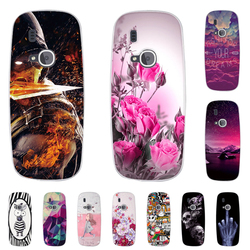 TPU Case For Nokia 3310 (2017) Back Phone Cover For Nokia 3310 2017 Print Painted Silicone Cases For Nokia 3310 2017 Shells Bags