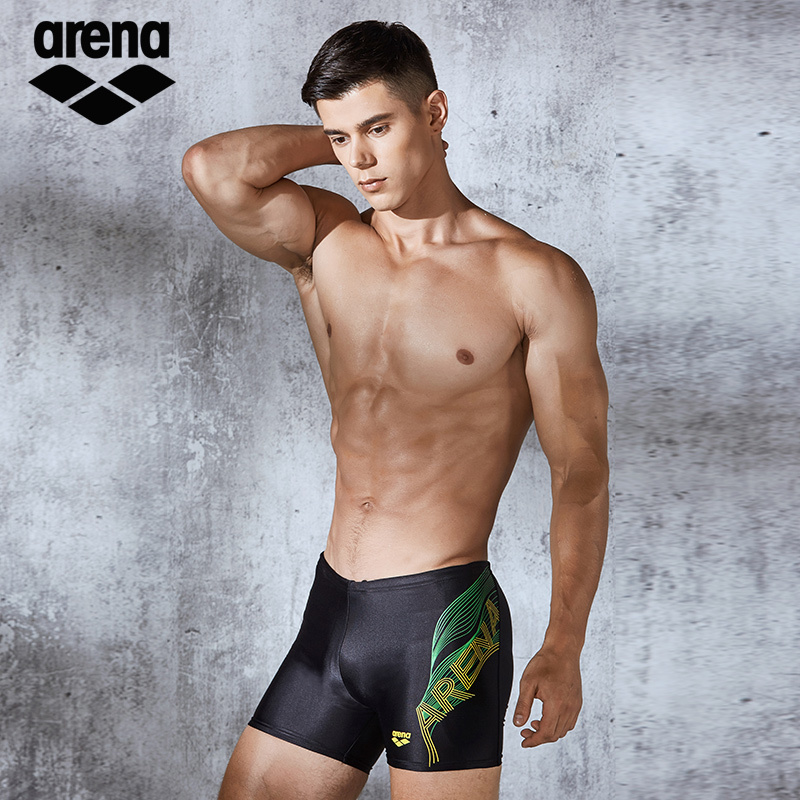 Arena New Arrival Mens Quick Dry Swimming Trunk Professional Swimming Wear