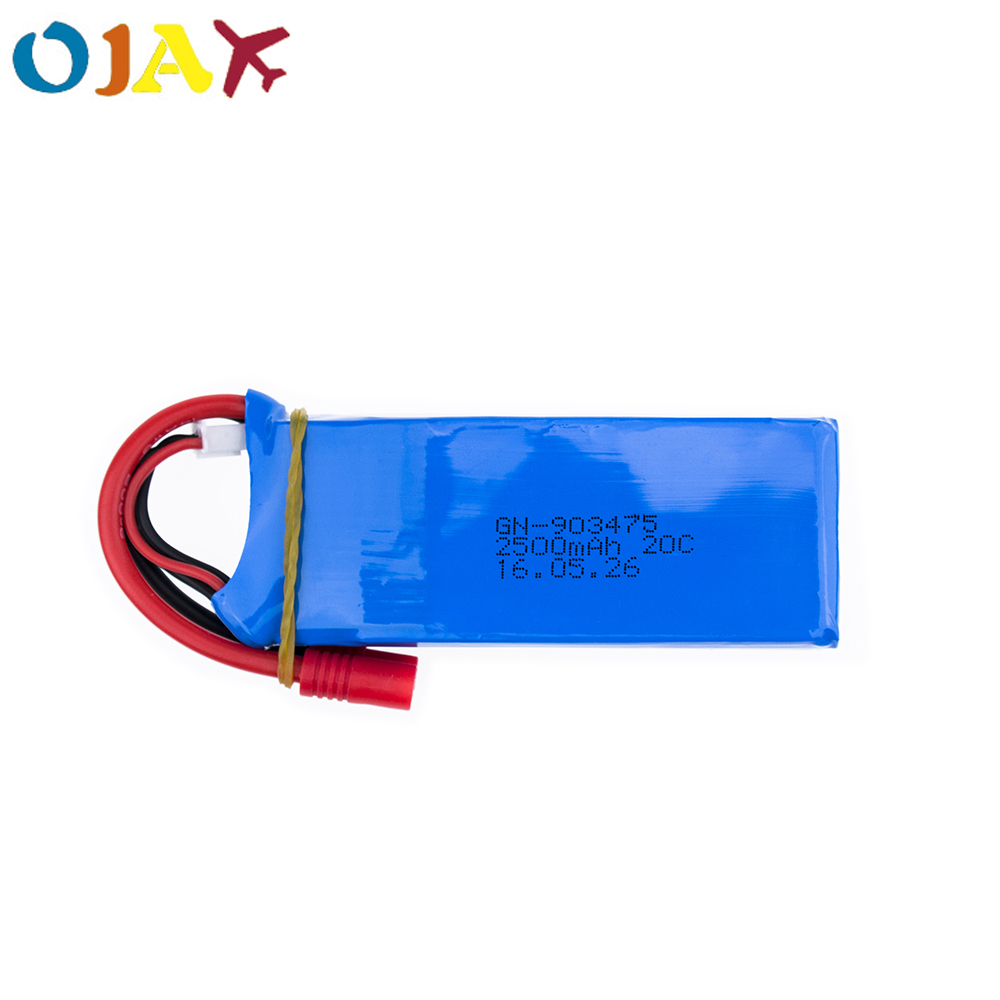 US $12.46 18% OFF|7.4V 2500mAh 25C Drone Battery 903475 For RC MJX X101/MJX X102H SYMA X8C X8W X8G X8HC X8HW X8HG Wltoys V262 Quadcopter -in Parts & Accessories from Toys & Hobbies on Aliexpress.com | Alibaba Group