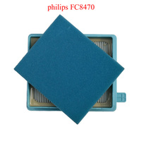 Vacuum Cleaner Accessories Air Outlet HEPA Filter And Filter Cotton For FC8471 FC8632 FC8472 FC8470