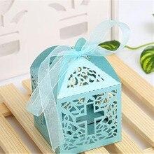 10 Uds. Cruzadas cajas de dulces caja de regalo de Ángel para Baby Shower bautizo cumpleaños primera bautizo y comunión mesa de decoración de boda