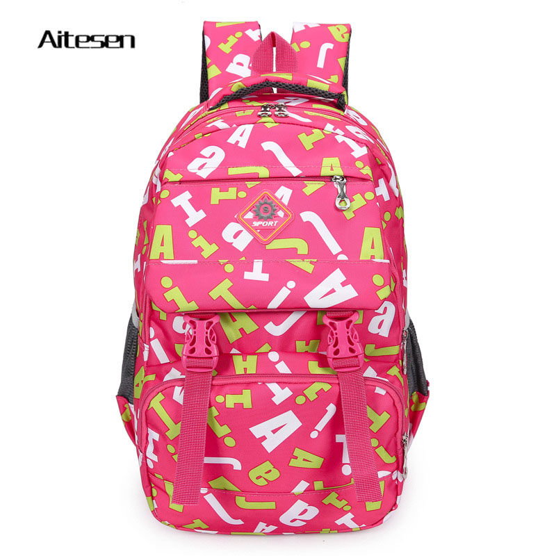 2016 brand women pretty printing canvas fashion backpack girls travel bags school knapsack leisure backpack mochila