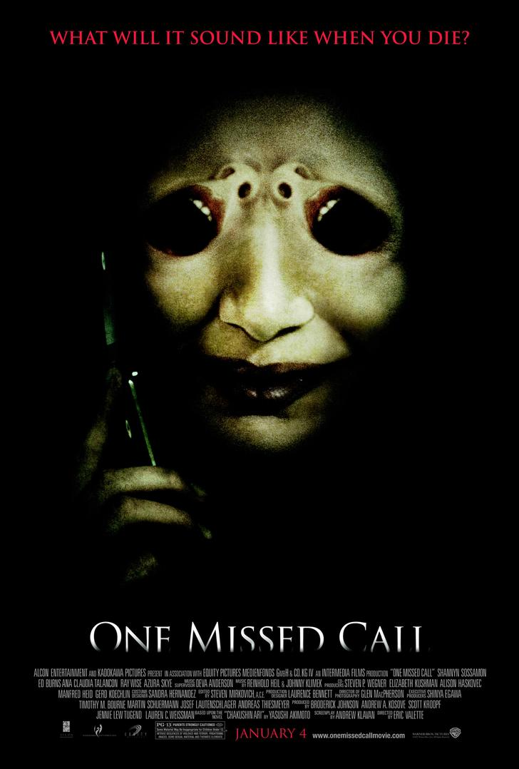 One Missed Call Horror Thriller Movie Film Classic Wall Sticker Canvas Paintings Decorative Vintage Poster Home Bar Decor Gift image