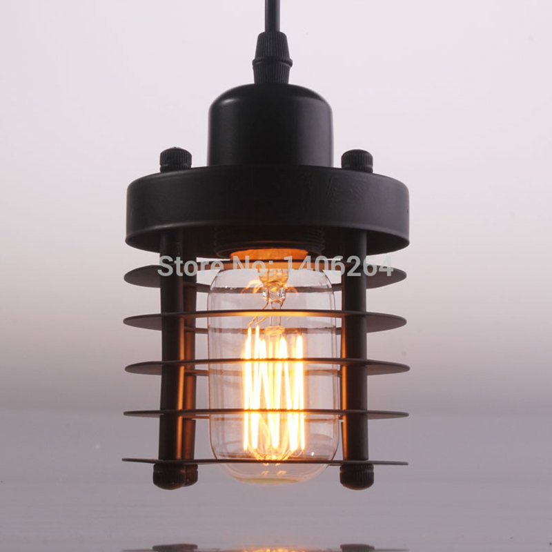 Nordic RH Loft Edison Industrial Rust Circle Droplight Ceiling Lamp For Cafe Bar Hall Coffee Shop Club Store Restaurant Balcony nordic vintage loft industrial edison spring ceiling lamp droplight pendant cafe bar hanging light hall coffee shop store