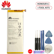 Hua Wei HB4242B4EBW Original Replacement Phone Battery For Huawei honor 6 Honor6 4X H60-L01 H60-L02 H60-L11 H60-L04 3000mAh