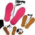 Nuevo USB Caliente Eléctrica Powered Climatizada Plantillas Para Zapatos Botas de Mantener Los Pies Calientes