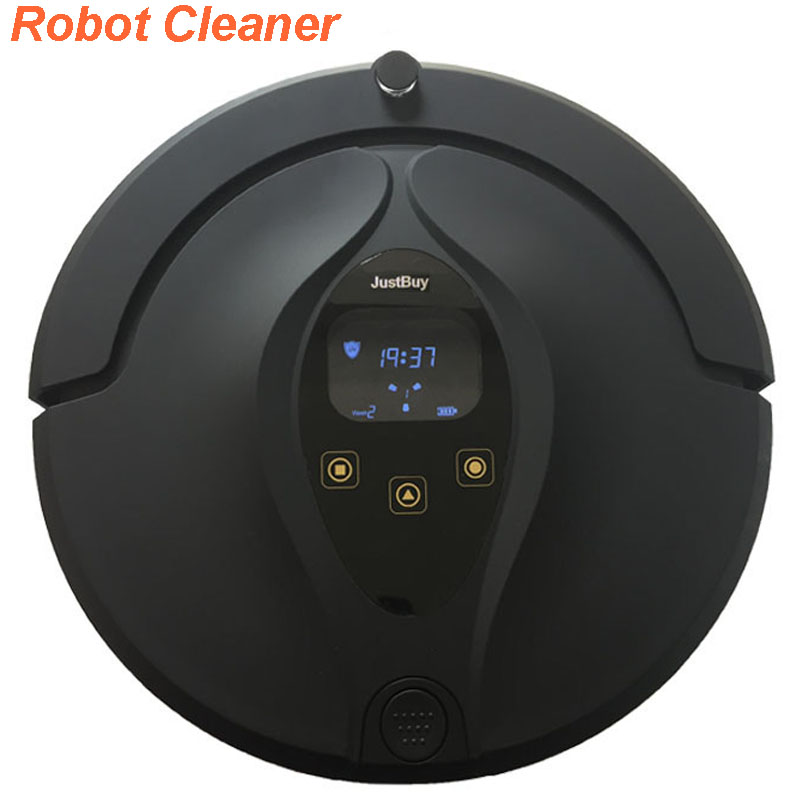 2017 Intelligent Robot Vacuum Cleaner with 1000PA Suction Dry and Wet Mopping intelligent d5501 robot vacuum cleaner with 180ml water tank 2 suction nozzle powerful wet