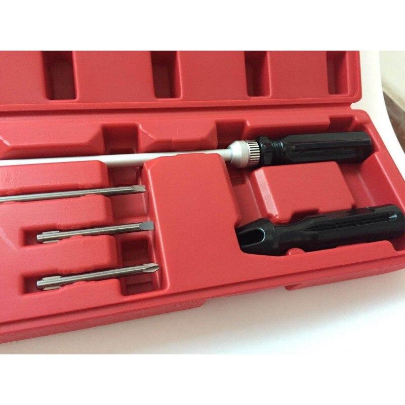 90 градусов коническая отвертка угловой Набор отверток для Moto инструмент для настройки карбюратора гаечный ключ - 3