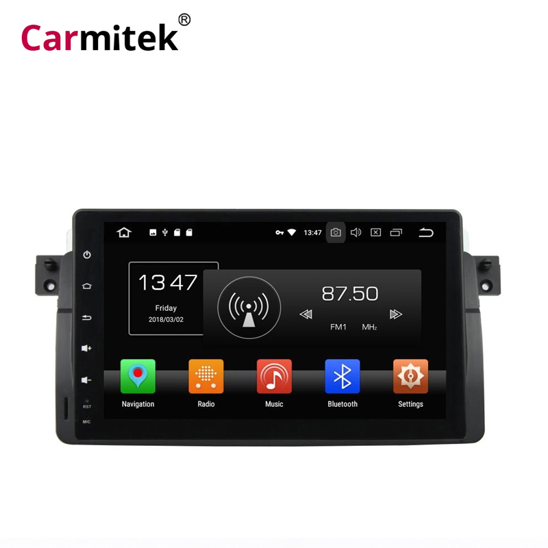 2 din autoradio navigation gps Android multimédia lecteur stéréo pour BMW e46 1998 1999 2000 2001 2002 2003 2005 2din auto-radio