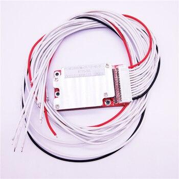 Batería de 13 S 48 V BMS Li-ion litio 40A 18650 protección de la batería BMS PCB Junta equilibrio