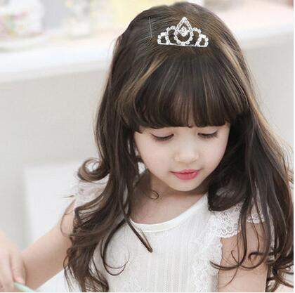 Clear Stone Mini Flower S Crown Hair Combs Tiara Wedding Rhinestone Headpieces Jewelry In From Accessories On Aliexpress