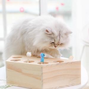Image 4 - HOOPET Katze Interaktive Haustier Katze Spielzeug Spielen Fangen Spielzeug Spielen Übung Spielzeug Pet Produkte