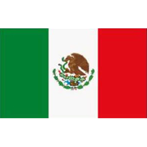 SOSW-Mexico Flag 5ft X 3ft