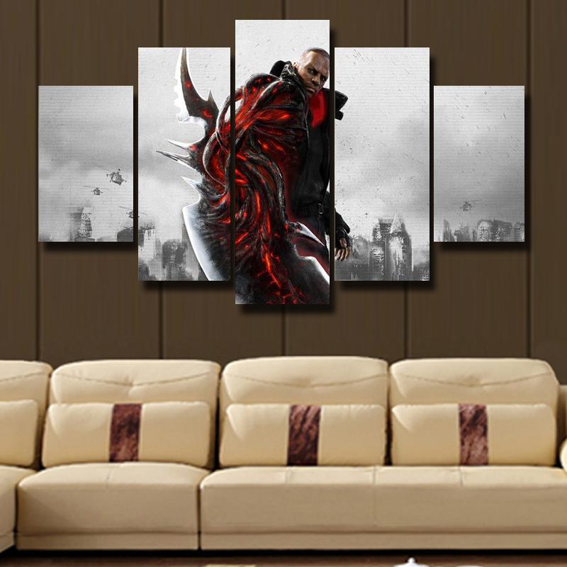 5 P Kunst Wand Moderne Lgemlde Druck Leinwand Drucken Wohnzimmer Dekoration HD Poster Bild Thema Zukunft