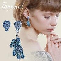 Speciale Merk Fashion Leuke Kleine Dier Oorknopjes Asymmetrische Fairy Oorbellen Steentjes Sieraden Geschenken voor Vrouwen S1716E