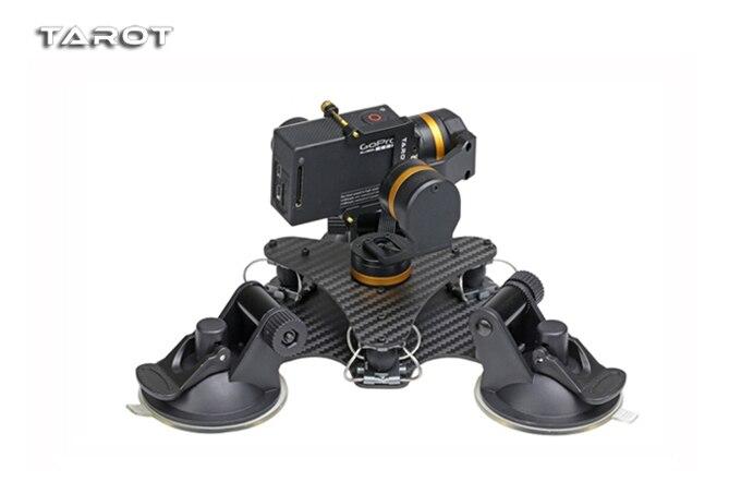 Estabilizador cardán de cámara de Metal de 3 ejes estable de Tarot ZYX T DZ montado en el coche PTZ para GOPRO HERO 3/3 +/ 4 Cámara del deporte Cámara de-in Partes y accesorios from Juguetes y pasatiempos    2
