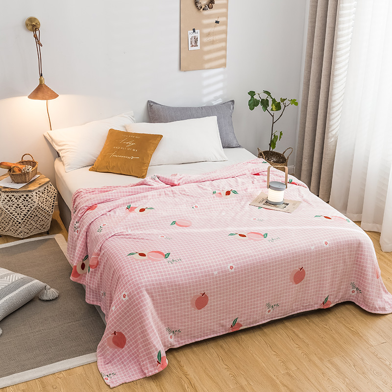 Kawaii Peach Blanket  2