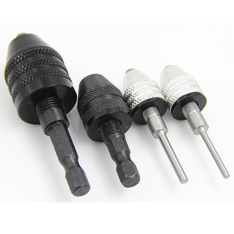 1pc Quick Change Drill Bit Chuck Adapter Mayitr Keyless Hex Shank Converter Power Tool Accessories