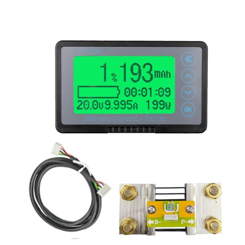 Счетчик кулона TF03K, измеритель емкости аккумулятора, индикатор напряжения и тока, TTL232, литий-ионный, литий-полимерный, свинцово-кислотный, дл...