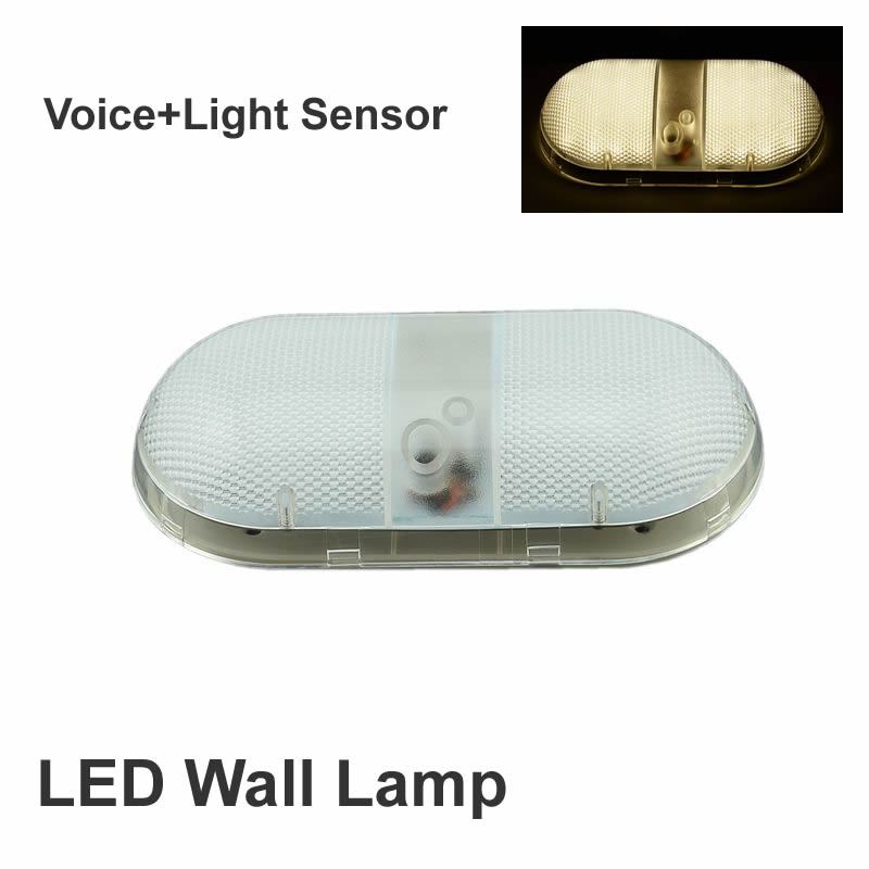 7W Wall Lgith Indoor control switch Voice+Light Sensor controller with the fire stairs stairway Recessed Steps Ladder Wall Lamps large illumination area ul panel light 4 x1 1200x300mm hanging recessed wall surface mounting no gare soft flat light