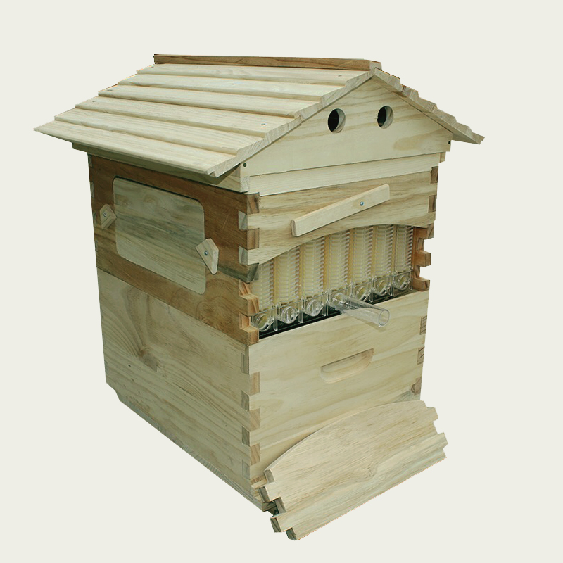 Free ship automatic beehive honey flow hive for honey bee hive honeycomb 7PCS flow frames beehive colmena flow hive frames kits