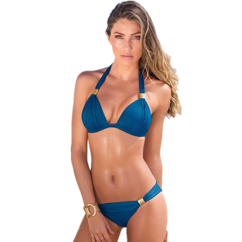<font><b>Sexy</b></font> Top 2019 Brazilian Brand Swimsuit <font><b>Women</b></font> <font><b>Bandage</b></font> <font><b>Bikini</b></font> <font><b>Set</b></font> Beachwear Bathing Suits Biquini <font><b>Swim</b></font> Wear <font><b>Swimwear</b></font> Female <font><b>Bikini</b></font> image