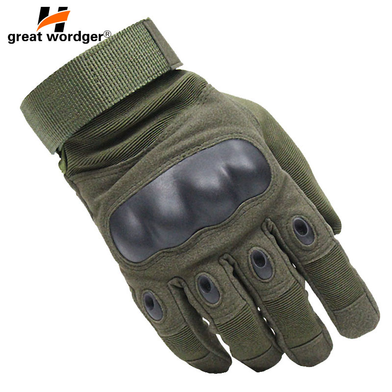Touch Screen Tactical Gloves Military Motorcycle Gloves Cycling Army Shooting Airsoft Hard Knuckle Combat Full Finger Gloves Men