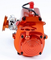 CNC 4 болта 30.5cc двигатели для 1/5 hpi rovan КМ baja 5b/5 т/5sc LOSI 5 т DBXL FG Багги Redcat rc части автомобиля