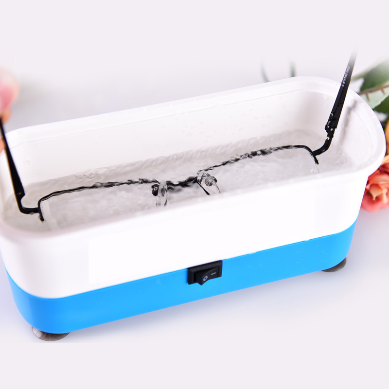 Portable Ultrasonic Cleaner Home Mini Automatic Ultrasonic Cleaner for Glasses Contact Lenses Jewelry Watch Cleaning Machine