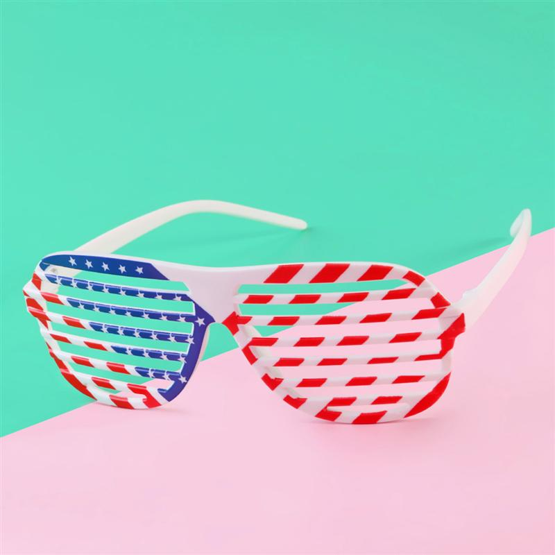 5d4cd851f1c5 Detail Feedback Questions about 12pcs American Flag Eyeglass USA Patriotic  Design Shutter Shade Glasses Shades Sunglasses Eyewear For Party Props  Decoration ...