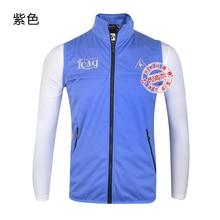 2016 New Golf Clothing Men Vest Men Waistcoat Sleeveless Shirt Keep Warm Waterproof Windproof Outerwear Jacky 1720