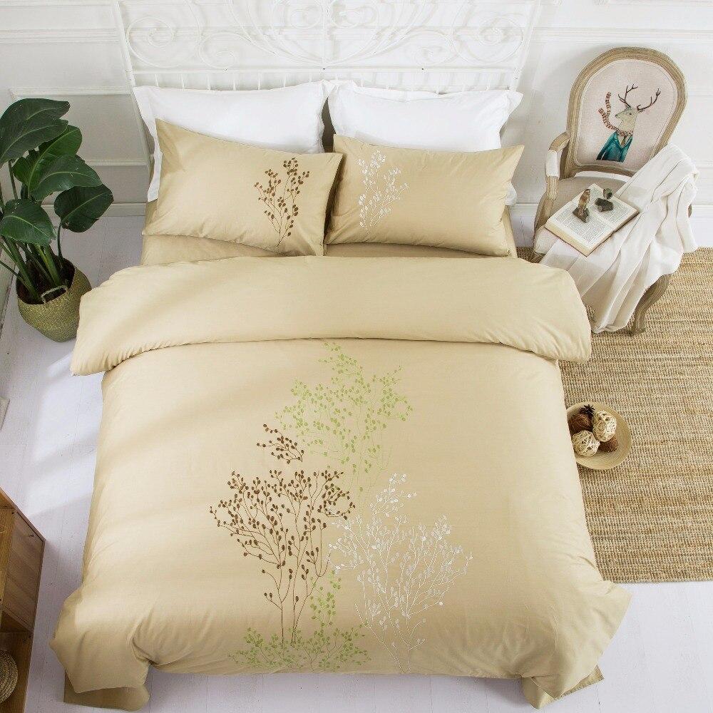 4 UNIDS 100% Algodón Bordado Decoración de la boda ropa de cama - Textiles para el hogar - foto 2
