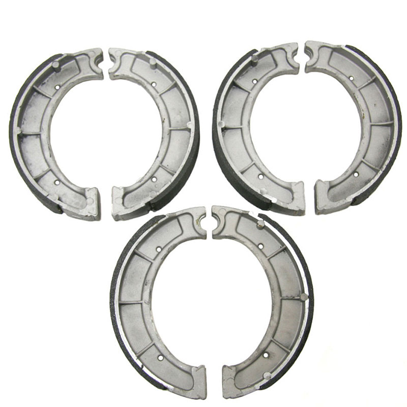 new Front & Rear Brake Shoes for Yamaha Timberwolf 250 & Bear Tracker 250 SEE YEARS