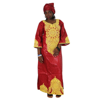 MD 2019 dashiki african dresses for women plus size riche bazin dress traditional african clothes women south africa head wraps