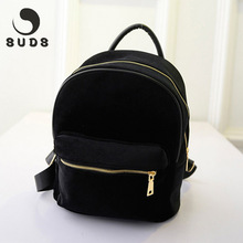 SUDS New Small Women'S Backpacks For Teenage Girls 2017 Mochila Feminina Vintage Mini Rucksack Women Backpack For School Solid