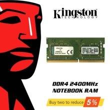 Оригинальный Kingston Оперативная память памяти DDR4 8 ГБ 4 ГБ оперативной памяти, 16 Гб встроенной памяти, 2400 МГц Тетрадь карта оперативной памяти внутренней памяти для портативных ПК 8 гигабайт концертов