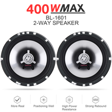 2pcs 6.5 Inch 400W Car Coaxial  Speaker Auto Audio Music Stereo Loundspeaker Full Range Frequency Hifi Lound speaker