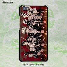 itachi uchiha Naruto design hard black Case Cover for Huawei P8 P9 lite P9 Plus P7 Mate9 Mate8 Mate S