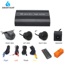 Panoramic rearview camera 360 degrees car parking system Camera all waterproof Reverse camera back360 driving recorder