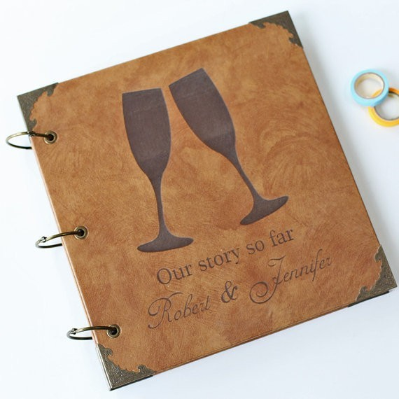 Design Your Own Personalized Photo Album Scrapbook Custom Wedding