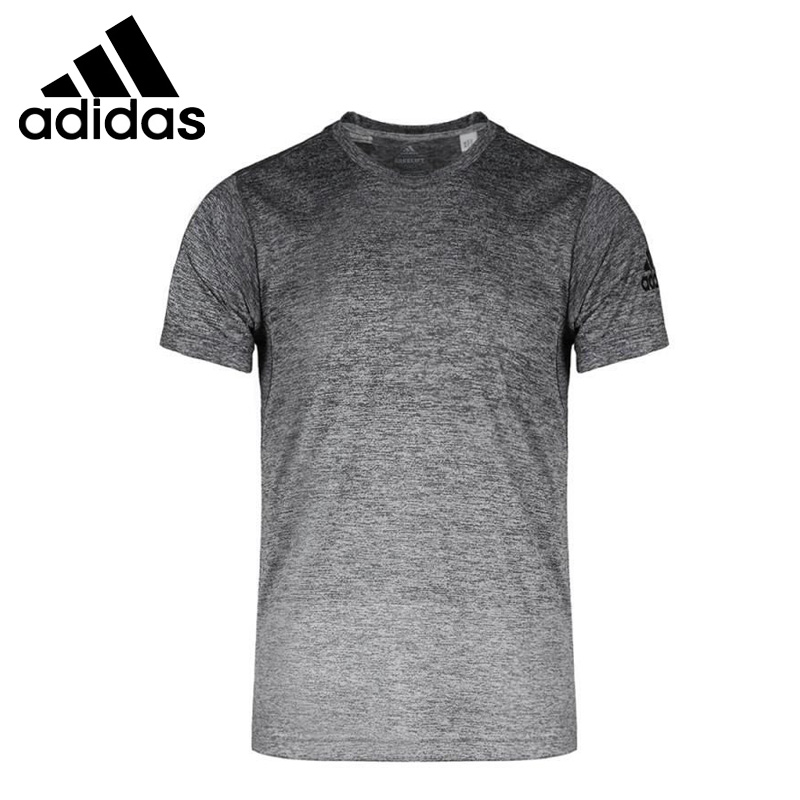 Adidas Man Short Sleeve Running T shirt Cotton Breathable