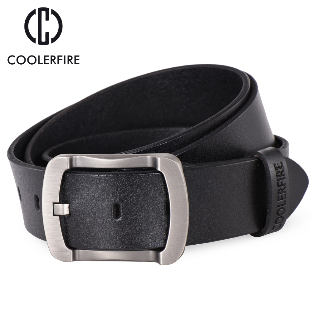 100% cowhide genuine leather belts for s
