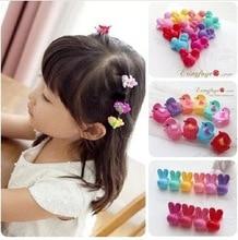 4pcs/lot elastic band bracelet hair accessories baby girl headband clips gum weave baffle braided bow bandana ornaments